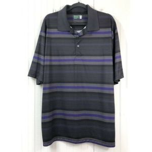 Ben Hogan Performance Golf Polo Shirt 2XL Striped